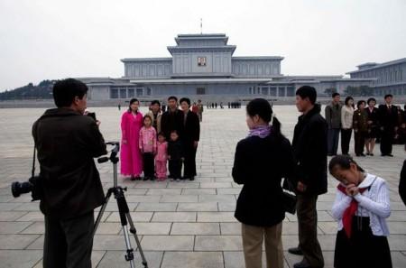 Il Kumsusan Memorial Palace a Pyongyang, Corea del Nord