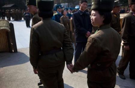 Soldatesse in Corea del Nord