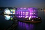 A Seul, in Corea, una nuova isola galleggiante spopola tra i turisti.